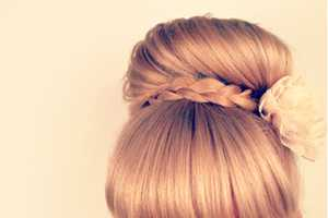 The Beauty Department Braid Bun Bang is Ballerina Approved