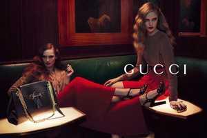 Gucci Pre-Fall 2012 Campaign is Glamorously Seductive