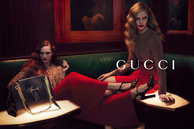 Richly Sultry Fashion Ads
