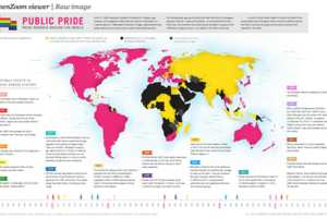 This LGBT Infographic Shows How It's Celebrated Around the Globe