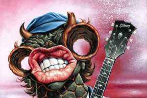 Jason Edmiston Depicts Music Legends as Psychedelic Monsters
