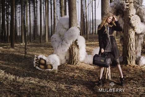 Monster-Full Fashion Ads - The Mulberry Fall 2012 Campaign is Entirely Enchanting