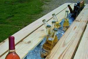 The Beer Gutter Picnic Table is a Summer Time Must-Have