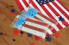 Festive Patriotic Flag Treats