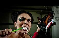 Quirky Dental Doberman Captures
