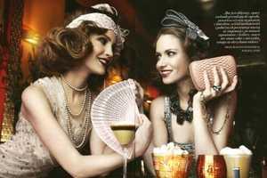Maciej Bernas Snaps Fashion Magazine 'The Great Gatsby' Editorial