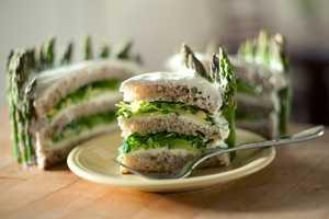 The Layered Sandwich Cake is Savory Despite its Sweet Profile