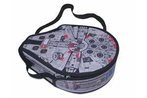 The Millenium Falcon LEGO Messenger Bag Is a Clear Tribute to Star Wars