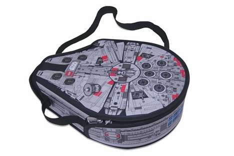 millennium falcon lego messenger bag