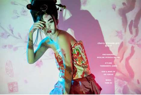 geisha inspired photoshoots