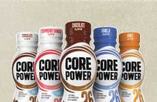 Sports Recovery Shakes - Coke's Core Power is a Dairy-Based Post-Workout Drink