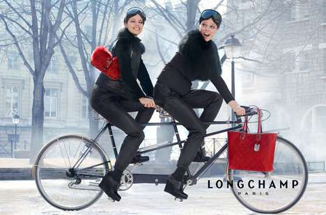 Longchamp Fall 2012 campaign