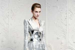 The Alexander McQueen Resort 2013 Collection is Boldly Tailored