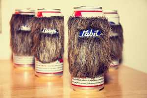 The 'Beard Coozie' Incorporates Drinking With Bristly Male Looks