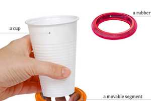 Cup Ring by Alexey Chugunnikov is a Design That'll Secure Your Drink