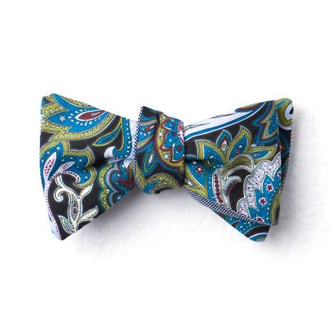 Cotton Treats Reversible Bow Ties