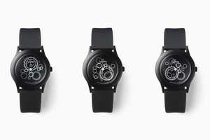 The Nendo 'Dark Noon' Watches Alter as Time Passes