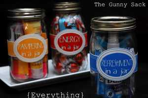 The 'Gunny Sack' Mason Jar Confections are On-the-Go Perfection