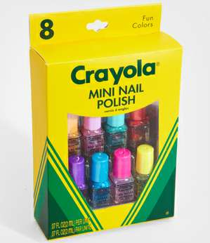 crayola nail polish