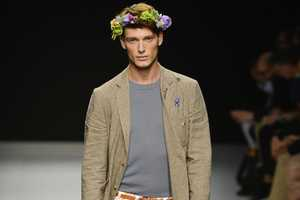 The Vivienne Westwood Spring 2013 Line Features Flowers for Men