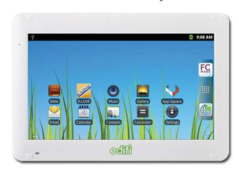 Religion-Friendly Gadgets - The Family Christian Edifi Tablet is Wholesome Technology