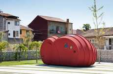 Sculptural Habitual Modules - Shelter ByGG by Gabriela Gomes is a Homey Art Installation