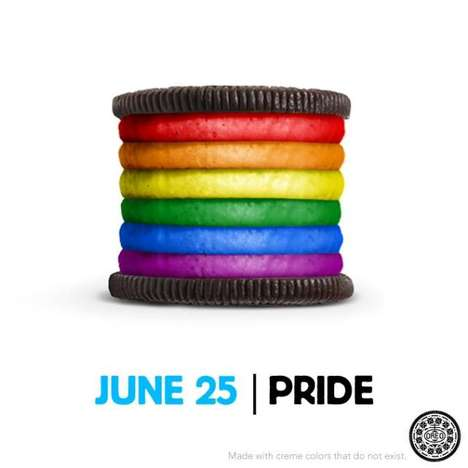 LGBT Cookie Campaigns - The OREO 'Pride' Ad is Supportive, Adorable and Colorful