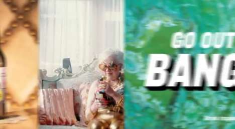 Glamorized Granny Galore Commercials - Ethel's Brew Advertises Its Beer with Surprising Humor