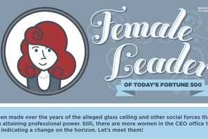 The 'DOMO' Female Leaders Infographic Highlights Women's Accomplishments