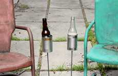 Homemade Hillbilly Drink Stands