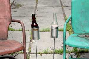 Hobo Tin Can Beer Holders are the Laissez-Faire Way to Decorate