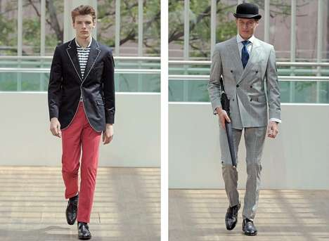 Great Gatsby Runways - The Hackett London Spring/Summer 2013 Collection Shows Contemporary Classics