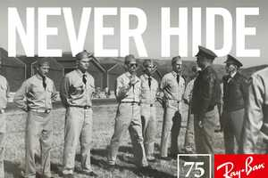 Ray Ban 'Legends Never Hide' Campaign Inspired by Real-Life Stories