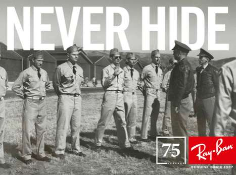 ray ban legends never hide