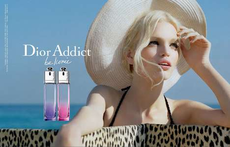 Cinematic Scent Ads - The Dior Addict 2012 Campaign Stars a Summery Daphne Groeneveld