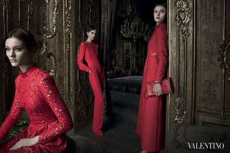 Valentino Fall 2012 campaign