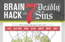 The Seven Deadly Sins Infographic Reveals the Worst Characteristics to Have