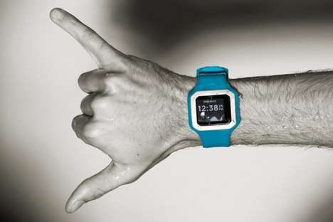 Silicone Surfer Watches - The Nixon