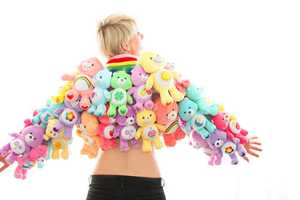 Care Bear Coat by Scoochmaroo is a Colorful Piece With Endless Teddy Bear Hugs