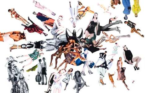 fashion collages by carl e smith