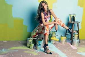 Vogue Brazil July 2012 'Gisele' Editorial Pops With Color