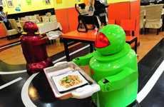 Robotic Restaurant Servers