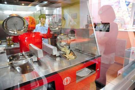 chinese restaurant replacing humans with robots