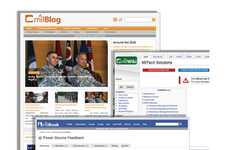 Army-Specific Social Media Sites