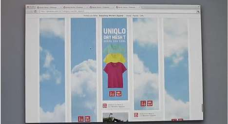 uniqlo pinterest dry mesh project