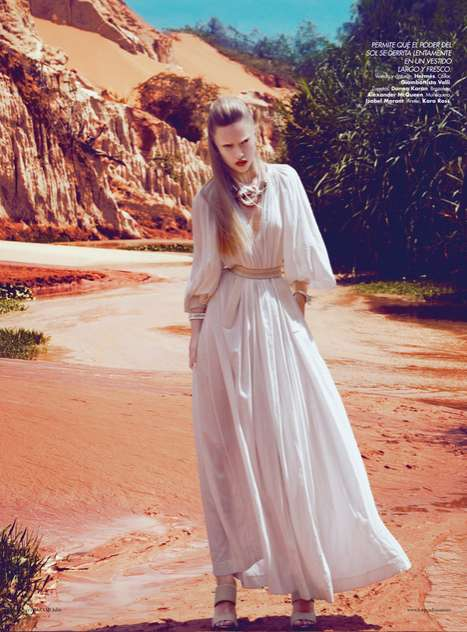 Harpers Bazaar Mexico July 2012