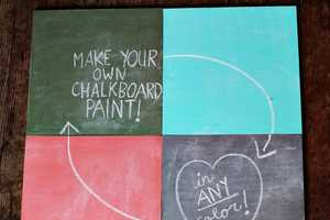 The How to Mix Chalkboard Paint Tutorial is Easy and Awesome