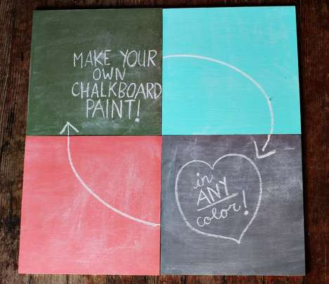 how to mix chalkboard paint
