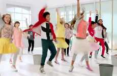Hygiene-Promoting Dance Numbers - Kleenex 'Shield Sneeze Swish' Commercial Targets Children