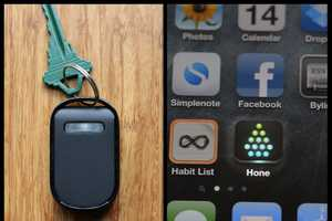 The Hone Keychain Navigates You to Your Lost Goods
